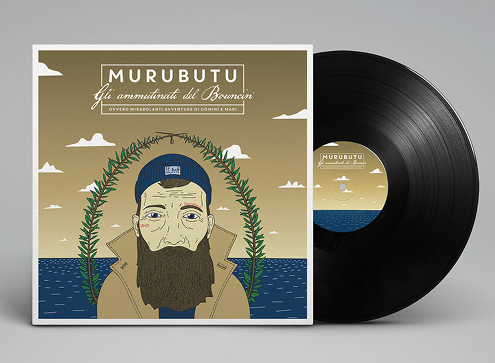 MURUBUTU album cover illustration by Federico Gastaldi